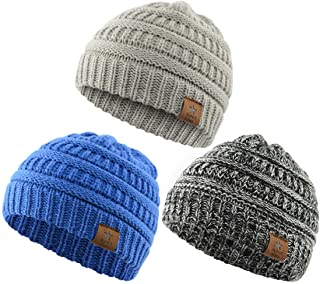 Infant Toddler Beanie Knit Baby Boy Hat Cute Winter Warm Beanies Hats for Boys Girls