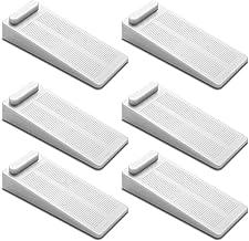 FEIGO Deurstopper van rubber, antislip, in hoogte verstelbaar, antislip op tegels/parket-/tapijt, deurbuffer voor balkonde...
