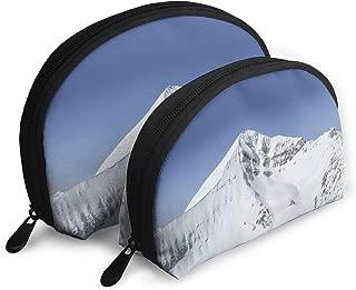 SUNGTER Big Sky Resort Montana Multifunctional Portable Cosmetic Bag Storage Bag