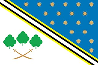 magFlags Large Flag Piatykhatky Raion, Dnipropetrovsk Oblast, Ukraine | Landscape Flag | 1.35m² | 14.5sqft | 90x150cm | 3x5ft - 100% Made in Germany - Long Lasting Outdoor Flag