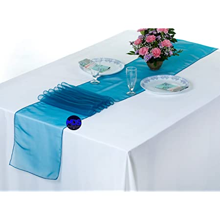 Organza ROLL TABLE RUNNER Bow Deco Fabric Table Band Table Decoration 12cm x 9 M LG.