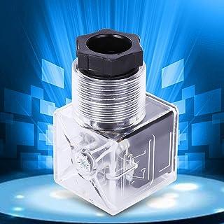 5 stks Solenoid Coil Plug Connector AC110-220V Transparante Lamp Hydraulische Coil Valve Plug