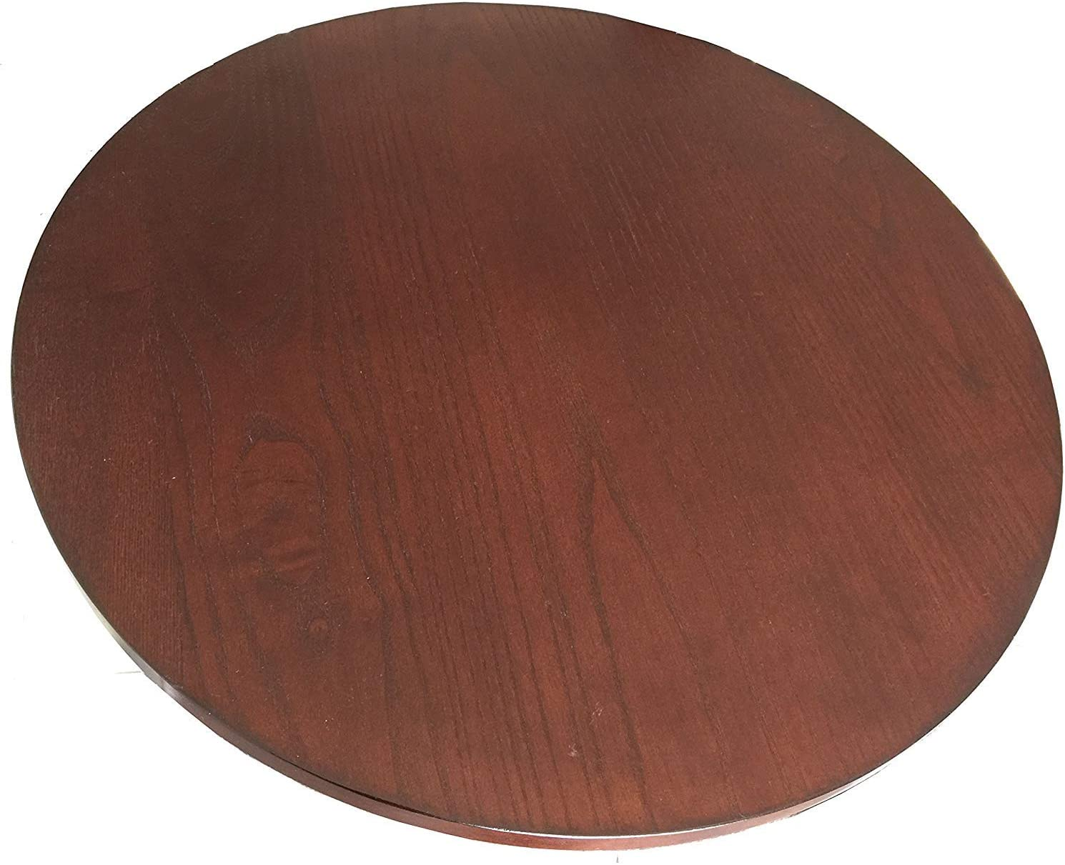 CM 21-in Diameter Brown New Shipping Free Wood Gifts Rotating Susan Turntable - Big Lazy