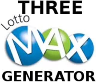 Canada Lotto Max Three Pick Generators, Interactive, Quickpick, Favorite Numbers