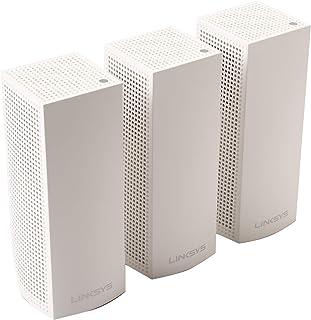 راوتر من لينكسيس Whw0303ب نظام  شبكة واي فاي شبكي لكامل المنزل، ابيض، حزمة من 3 قطع، 3 قطع