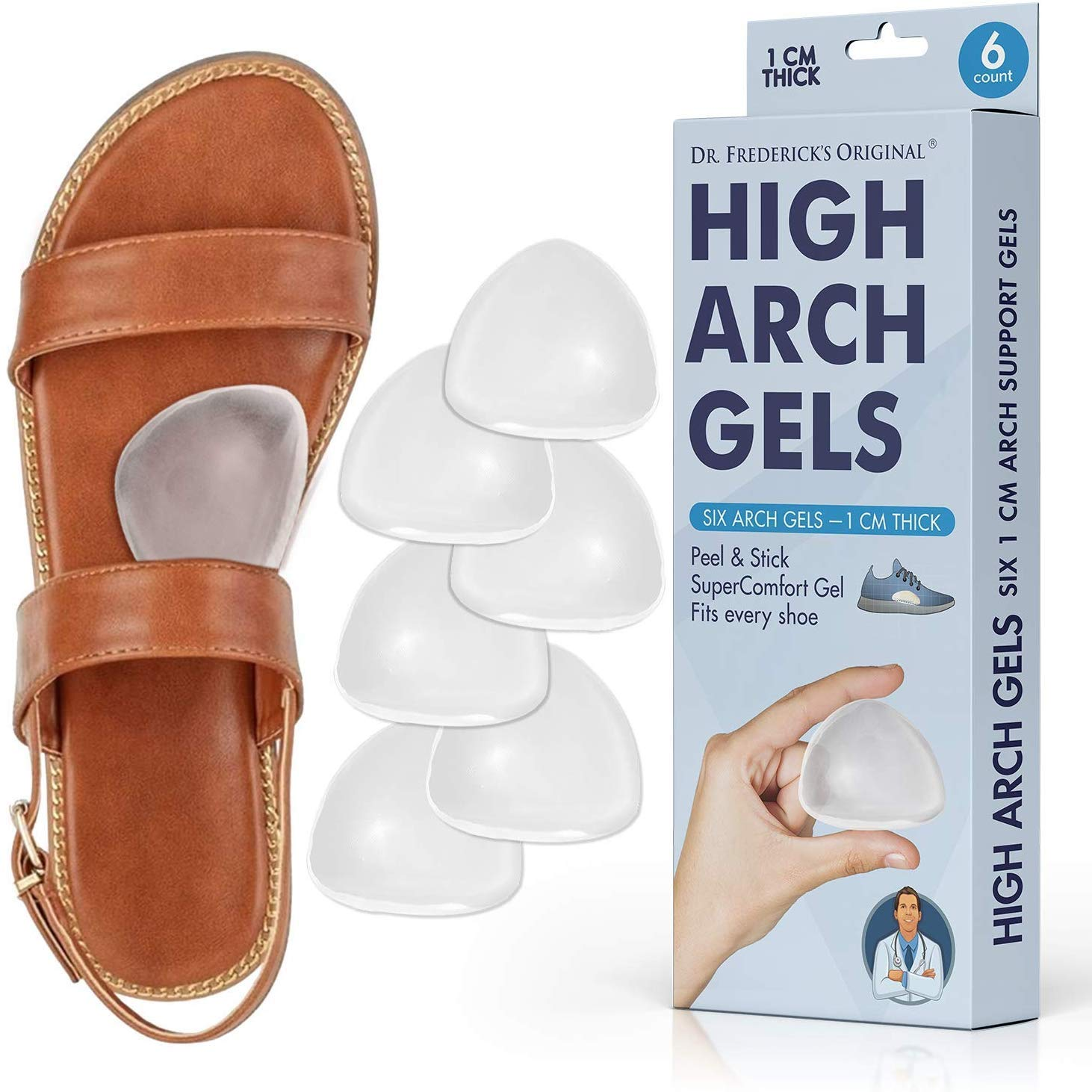 High Arch Support Gel Inserts