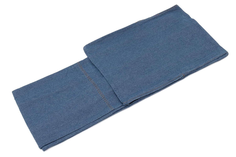 (ソウビエン) デニム着物 洗える着物 デニム 単衣 ブルー カジュアル シンプル レディース