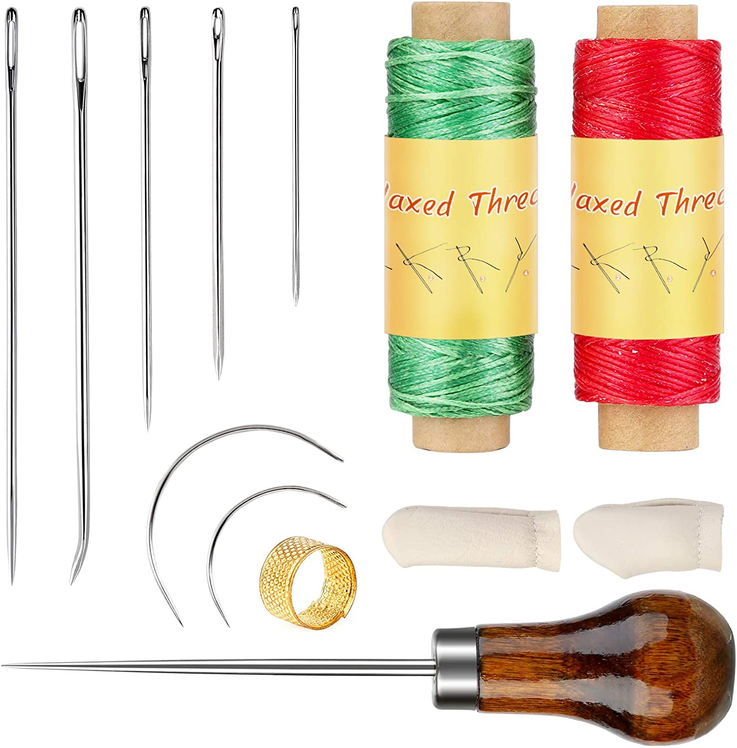 BUTUZE outlet Leather Sewing Kit Upholstery R Waxed Thread Needle and Ranking TOP6