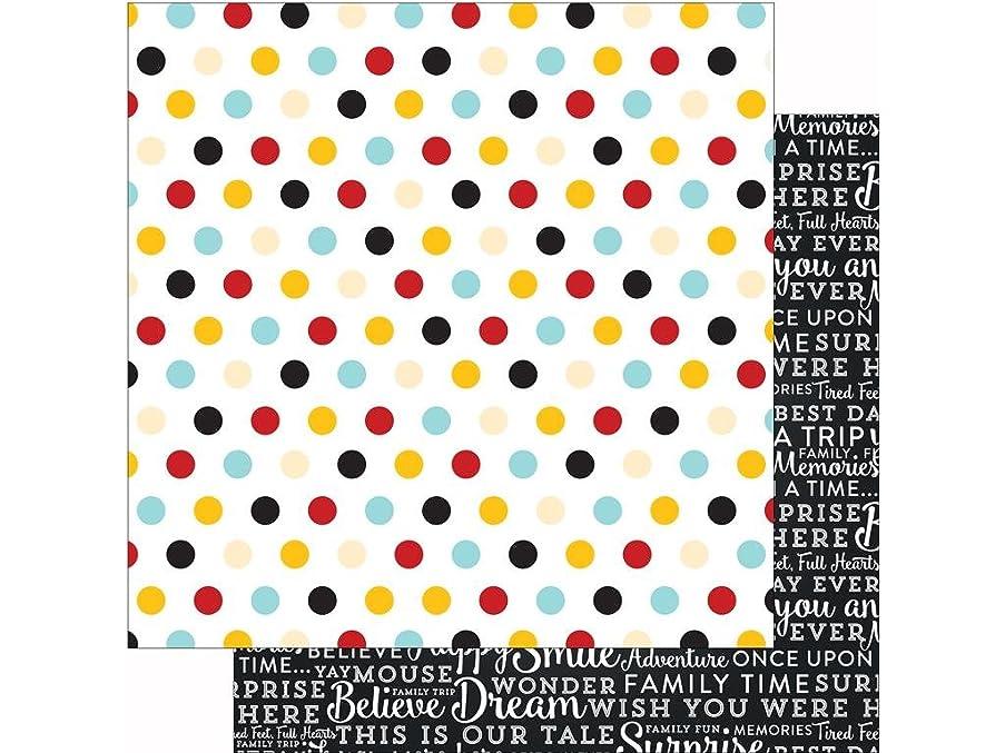 Echo Park Paper Company Echo Park Magical Adventure Paper 12x12 Multi Dots