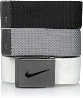 Nike Men's 3 Pack Golf Web Belt