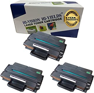 HI-Vision Compatible Dell B2375, 593-BBBJ, 8PTH4 (3 Pack) Black 10,000 Page Yield Toner Cartridge Replacement for B2375dnf, B2375dfw Multifunction Printers