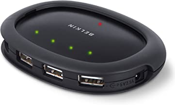 Belkin Hi-Speed Stackable USB 2.0 Hub with 4 Ports (F5U234v1)
