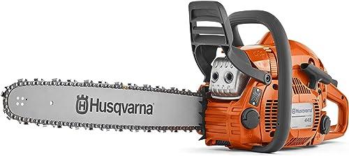 "wholesale Husqvarna 445 discount 18"" Gas Chainsaw, online sale Orange online sale"