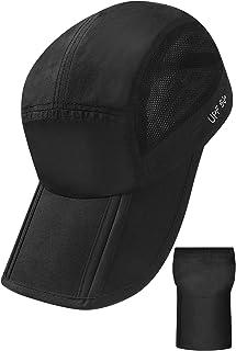 BooNly キャップ 帽子 メンズ 折り畳み UVカット UPF50+ 登山 ランニング メッシュ 吸水速乾 洗濯 レディース スポーツ アウトドア ゴルフ テニス