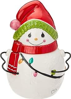 Precious Moments Snowman 191425 Cookie Jar, One Size, Multi