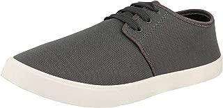 Chevit Mens 158 Canvas Sneakers Shoes-Grey