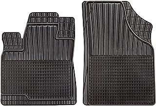 2/piezas CarFashion 281056 Juego de alfombrillas Negro