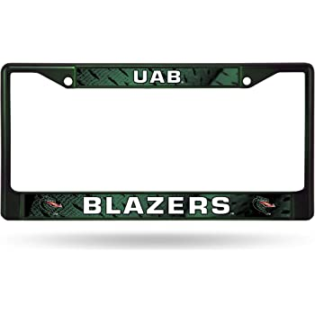 2 Mount Holes WinCraft University of Alabama at Birmingham UAB Alumni License Plate Frame Metal with Inlaid Acrylic