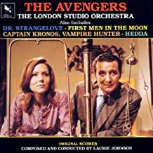 The Avengers: Also Includes Dr. Strangelove, First Men In The Moon, Captain Kronos, Vampire Hunter, Hedda Television And Film Score Re-recordings