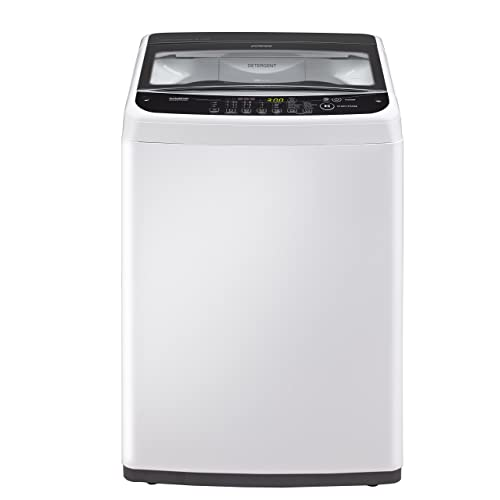 LG 6.2 kg Inverter Fully-Automatic Top Loading Washing Machine (T7281NDDL.ABWPEIL , Blue White)