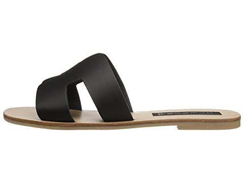 Steven Greece Sandal Black Leather Clearance Really kUvUsyWJ