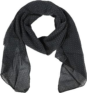 Pañuelo de seda. Patrón discreto de mujer. Hecho en Italia. Elegante bufanda de verano para mujer. Pañuelo de seda de alta calidad.