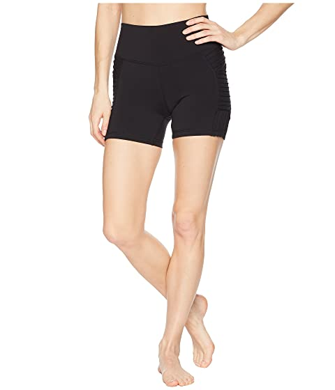 Alo Yoga Shorts High-Waist Storm Shorts, BLACK