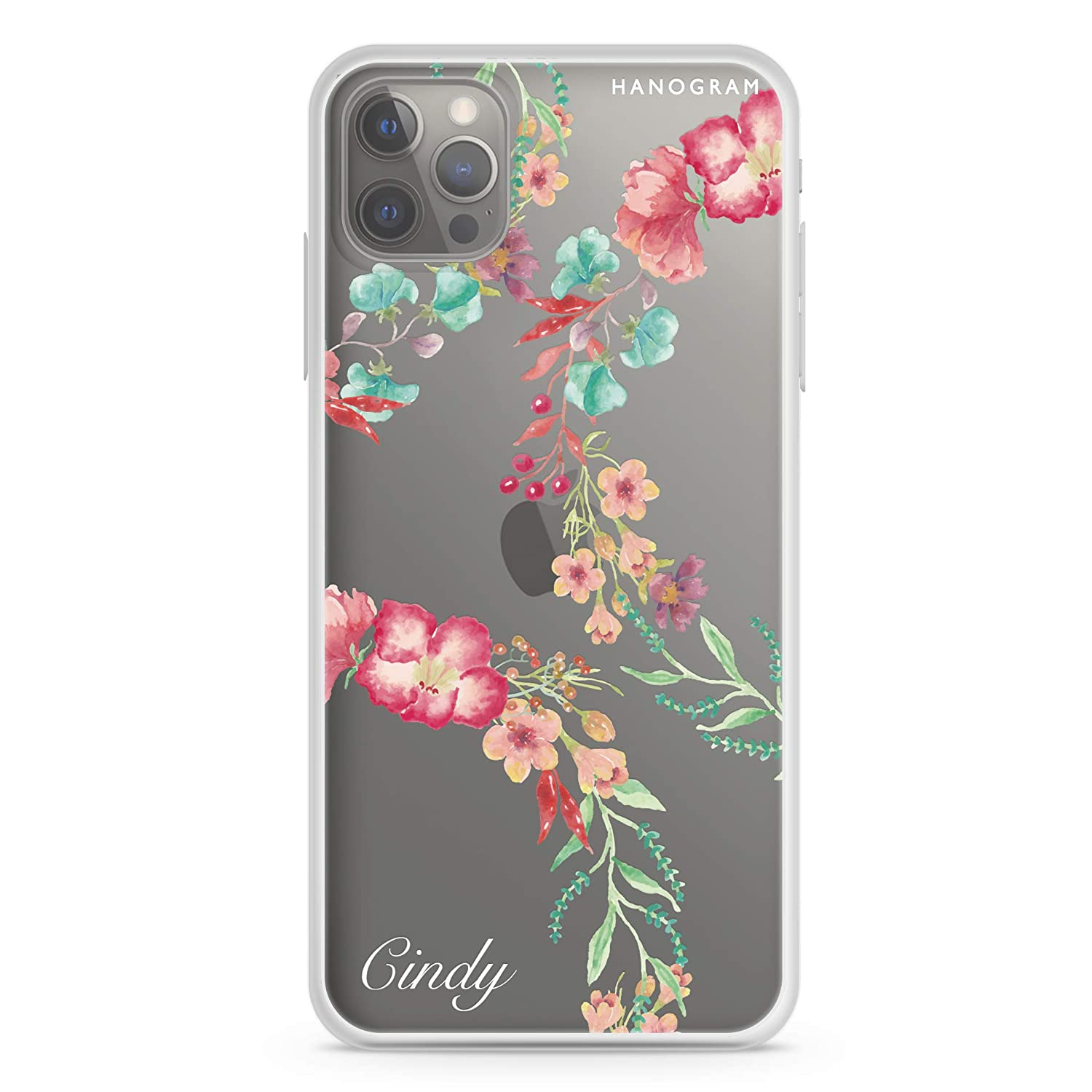 Spring Flowers Ranking TOP15 Jacksonville Mall iPhone 12 Pro Case Soft Clear iPh Max