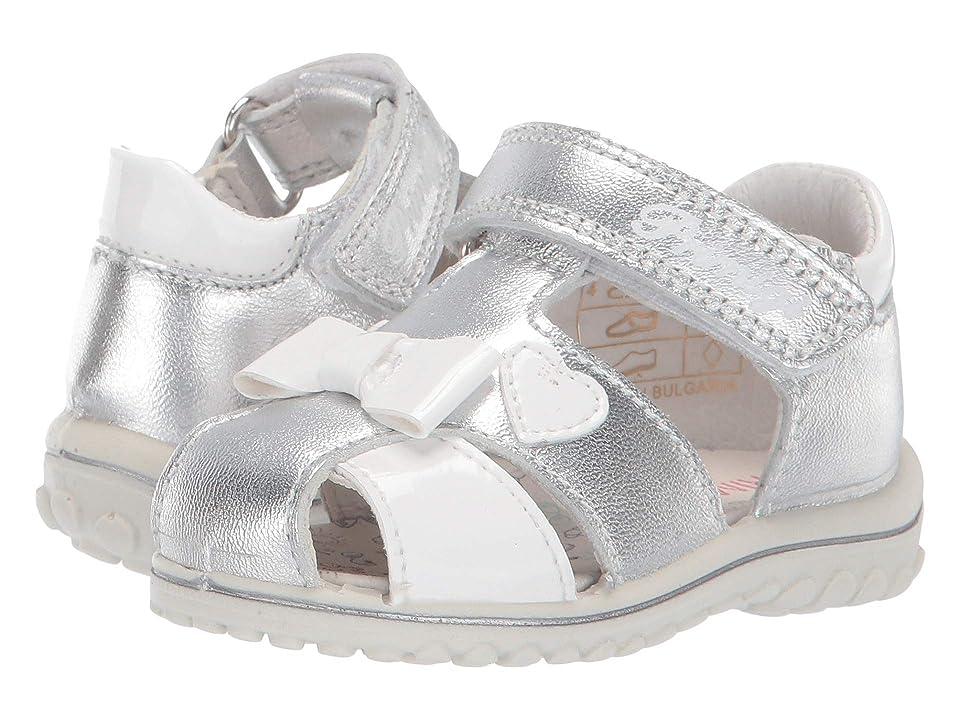 Primigi Kids PSW 33778 (Infant/Toddler) (Silver) Girls Shoes