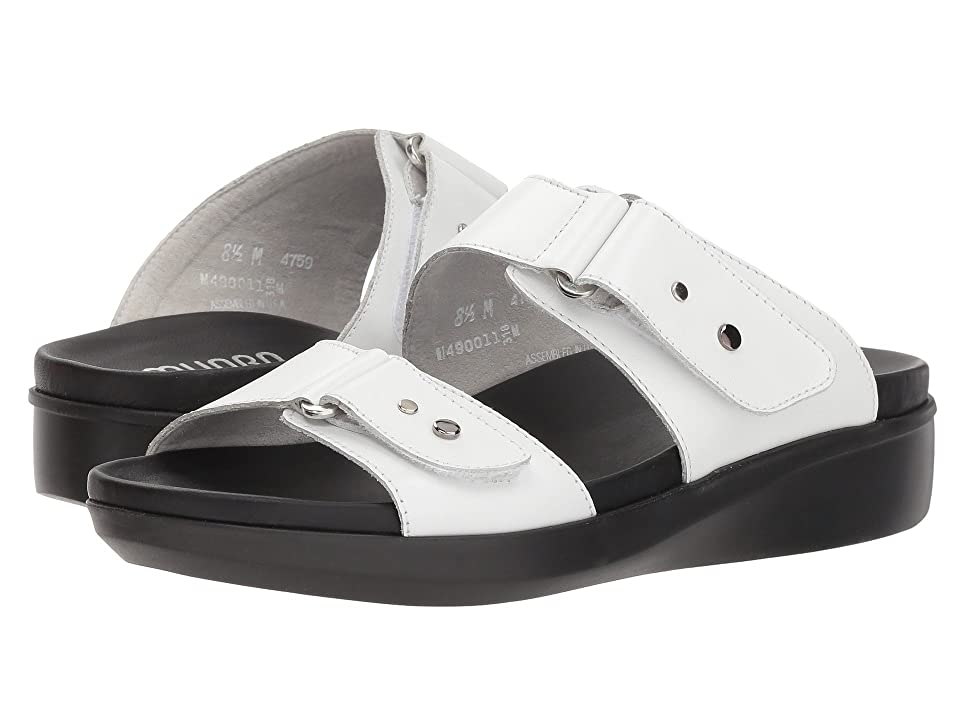Munro Maclaine (White Leather) Women
