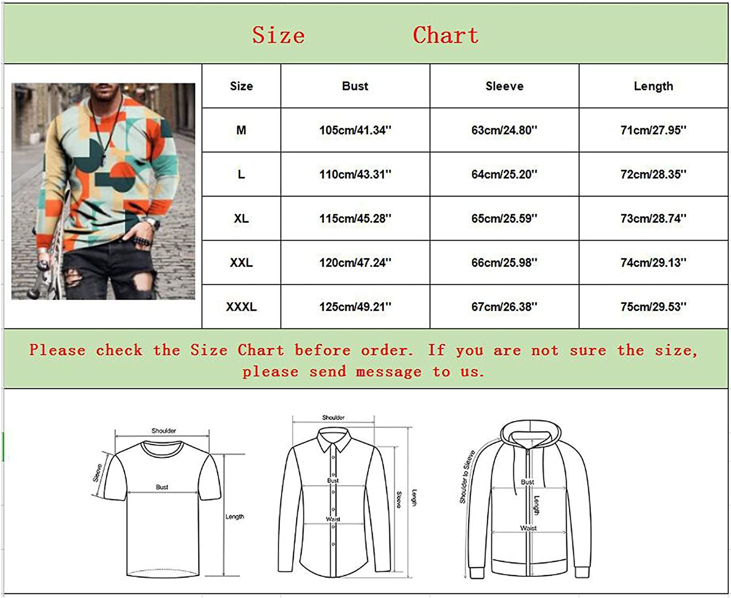 Aayomet Men's T Shirts Vintage Graphic Long Sleeve Slim Fit T-Shirt Casual Crew Neck Sport Workout Athletic Tee Shirts Tops