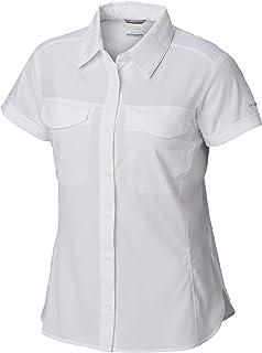 Columbia Women's Silver Ridge Lite Short Sleeve Shirt, UV Sun Protection, Moisture Wicking Fabric