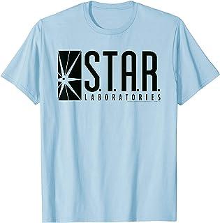 DC Comics Flash Star Labs Logo Black T-Shirt