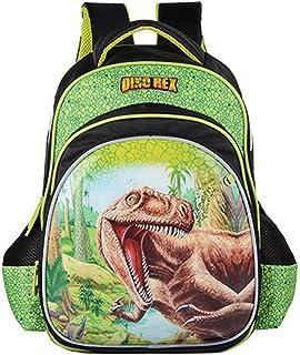 "Jasmine Star 16"" Children New Kids' Pressure Reduce School Satchel Backpack Bag, Dinosaur"