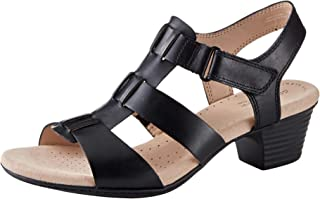 Clarks Womens 26140726 Valarie Kerry Black Size: