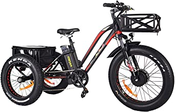 3 wheel folding electric bike