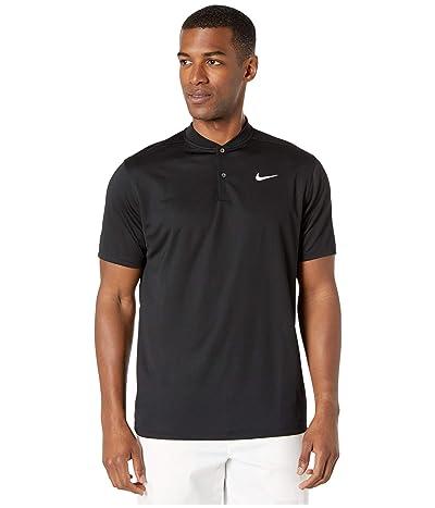 Nike Golf Dri-FIT Victory Blade Polo (Black/White) Men