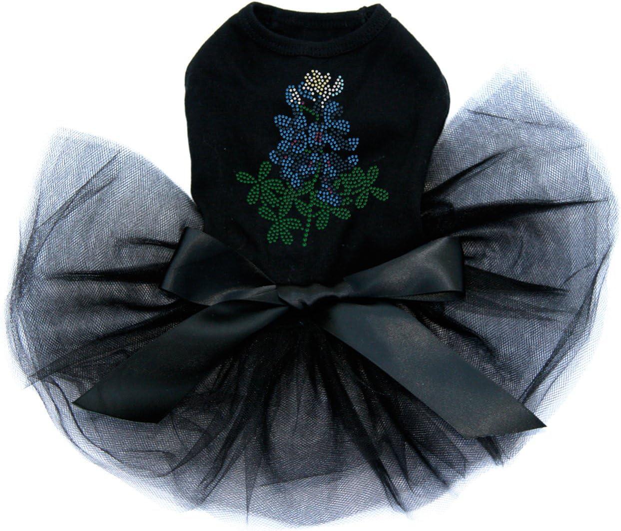 Bluebonnet specialty shop At the price - Bling Rhinestone Dog Tutu Dress Black 4XL
