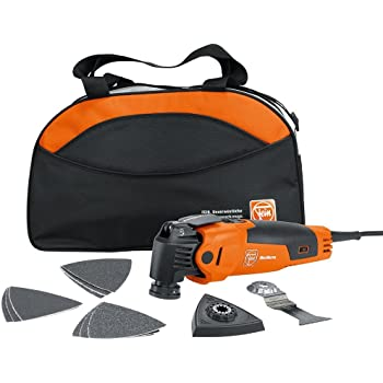 FEIN 72295264090 FMM350QSL MultiMaster Start Q StarlockPlus Oscillating Multi-Tool with snap-fit accessory change