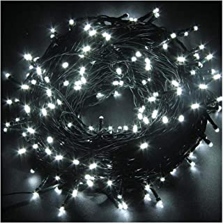 Indoor/Outdoor String Lights with 8 Flash Changing Modes, USB Power 72ft 200LED Wire lights, Waterproof Rope Lights, Fairy Twinkle Decorative Lights for Party/Christmas/Patio/Garden/Home (Cool White)