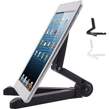 boldR® Soporte para Tablet - Stand / Base Flexible de Tablet. Compatible con cualquier tablet y e-reader como Kindle Paperwhite, Kindle Fire, iPad 1, 2, 3, Mini, Pro, Galaxy Tab, Lenovo etc. Color Negro.