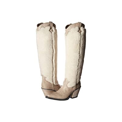 McQ Tammy Knee High (Ecru) Women