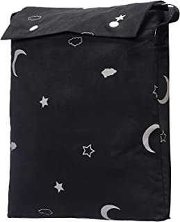 AmazonBasics Portable Baby Travel Window Blackout Blind Shades with Suction Cups - Moon & Stars, 1-Pack