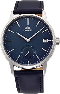 Orient Unisex-Adult Quartz Watch, Analog Display and Leather Strap RA-SP0004L10B