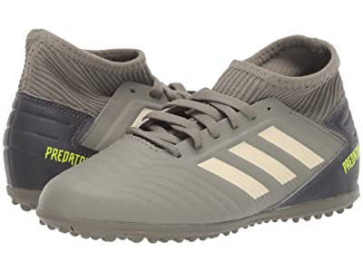 adidas Kids Predator 19.3 TF Soccer (Little Kid/Big Kid) (Legacy Green/Sand/Solar Yellow) Kids Shoes