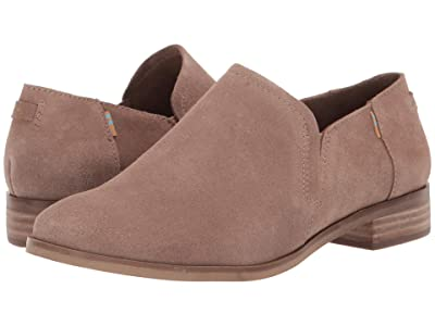 TOMS Shaye Low (Taupe Gray Suede) Women