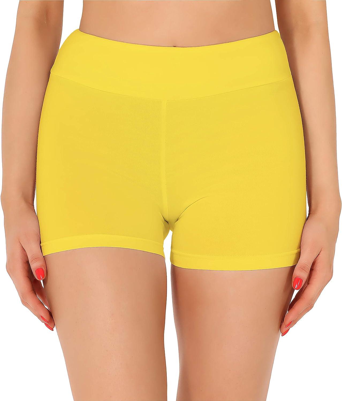 Merry Style Damen Shorts Radlerhose Unterhose Hotpants kurze Hose Boxershorts aus Baumwolle MS10-358