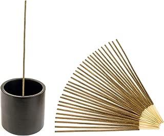Natural Choice Incense Cylinder Style Incense Holder (Black)