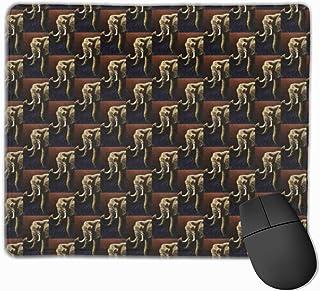 N\A Alfombrilla de ratón Antideslizante Lovely Elephant Named Future Primitive Gaming Mouse Pad con Base de Goma Antidesli...