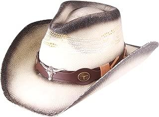 Enimay Western Outback Cowboy Hat Men's Women's Style Straw Felt Canvas